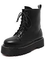 Women's Shoes Flat Heel Comfort Boots Outdoor Black