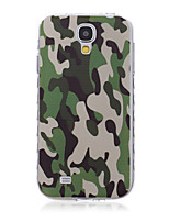 Для Кейс для  Samsung Galaxy С узором Кейс для Задняя крышка Кейс для Камуфляж TPU SamsungS6 edge plus / S6 edge / S6 / S5 Mini / S5 / S4