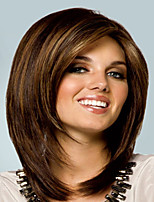 Gradient Color Synthetic Medium Wigs To European Women Lady