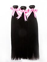 3pcs/lot 18inch Human Remy Hair Silk Straight Hair Weft Brazilian Virgin Hair Extensions 100% Human Hair Weaves
