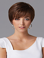 Generous Syntheic Wig High Quality  European Lady Women Brown Wave  Wigs