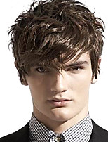 Men's Handsome Wigs Fashionable Brown Synthetic  Wigs To European And America
