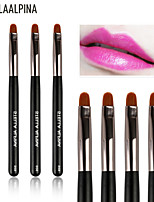 Stellaalpina Lip Brush Nylon Portable Wood Lip
