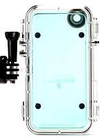 custodia impermeabile sport estremi con obiettivo grandangolare + adattatore GoPro per iPhone6 / 6s