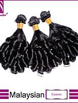 3pcs / lot capelli vergini malesi Fummi trasformati capelli vergini malesi fasci di capelli brasiliani