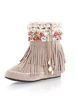 Women's Shoes  Flat Heel Round Toe/Closed Toe Boots