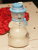 Christmas Snowman Big Size Candle for Gift Decoration (1pc)