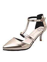 Women's Shoes Stiletto Heel Heels / Pointed Toe Heels Party & Evening / Dress / Casual Silver / Gold