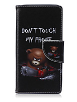 For Samsung Galaxy Case Card Holder / with Stand / Flip / Pattern / Magnetic Case Full Body Case Word / Phrase PU Leather Samsung A5 / A3