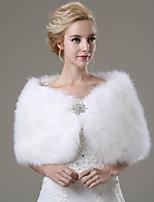 Wedding / Party/Evening / Casual Faux Fur Shawls Sleeveless Wedding  Wraps / Fur Wraps
