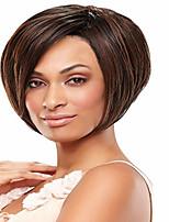 High Quality  European Lady Women  Wave Wigs Elegant Syntheic Wig