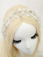 Dame Rhinestone / Krystall / Legering / Imitert Perle Headpiece Bryllup / Spesiell Leilighet Pannebånd Bryllup / Spesiell Leilighet1