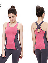 OUDIKE ® Yoga Clothing Sets/Suits Yoga Pants + Yoga Tops Breathable Stretchy Sports Wear Yoga Women's