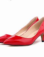 Women's Shoes Leatherette Stiletto Heel Heels / Pointed Toe Heels Office & Career / Dress / CasualBlack / Blue / Yellow