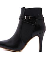 Women's Shoes Leatherette Stiletto Heel Cowboy /Snow Boots / Fashion Boots / Combat Boots BootsOutdoor / Office & Career