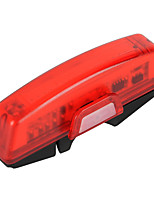 RPL-2263 100lm 6-Mode USB Rechargeable Red Light LED Tail Lamp for Bike