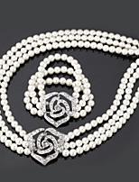 InStyle Big Pearl Vintage Bracelet Bangle Necklace High Quality
