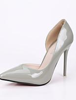 Women's Shoes Stiletto Heel Heels / Pointed Toe / Closed Toe Heels Dress Black / Purple / Red / Gray / Burgundy