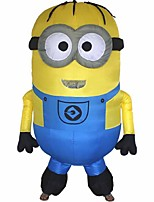 Inflatable Minions Halloween Despicable Me Little Yellow Man Mascot Costume Minion Inflatable Costume