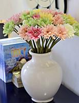 African Chrysanthemum Helped Langju Plastic Flowers PU Daisies Artificial Flowers