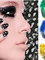 5pcs  Nail Art Feather Decoration