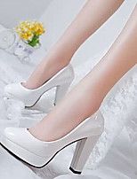 Women's Shoes Leatherette Wedge Heel Heels Heels Wedding / Office & Career / Party & Evening / Dress / Casual