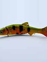 Hot 6.5 Inch 38 G Hard Plastic Body 3D eyes Vivid Action Fishing Lures