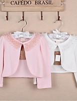 Wedding / Party/Evening / Casual Cotton Shrugs Long Sleeve Wedding  Wraps / Kids Wraps