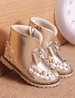 Botas ( Negro / Rosa / Oro ) - Botas a la Moda - Semicuero