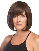 nuovo colore breve miscela con le donne lato botto straigt partito parrucca piena