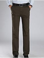 Men's Suits , Casual Pure Cotton Blend