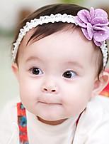 Kid's Simple Flower Elastic Headband