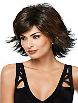 The New European And American Personality Brown Short Hair Wig