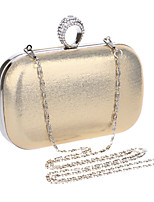 L.west Women Metallic Diamonds Evening Bag