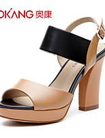 Aokang® Women's Leather Sandals - 132811036