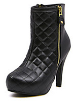 Women's Shoes  Stiletto Heel Pointed Toe / Round Toe Boots Casual Black / Brown