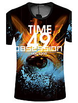 CliffWalker Men's fashion digital printing short sleeve T-shirt TYA-S9005