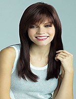 Beautiful Dark Color Extensions European Lady Women Wig Syntheic  Wigs