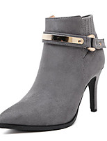 Women's Shoes Suede Stiletto Heel Cowboy / Western Snow Boots / Riding Boots / Bootie / Combat BootsOutdoor / Office