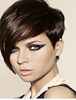 European Top Quality Personality  Short Silky Short Synthetic Hair