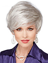 Personality European Short Bob Blonde Synthetic Wave
