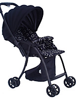 Beau Tech baby stroller fleded umbrella portable pram 4-wheel tow-direction shock-resistant