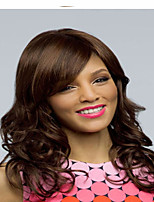 Women Syntheic Brown Miduim Wave Wigs Superior In Quallity And Reasonable In Price
