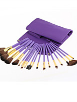 Monsia® 3 Colors Makeup Brushes Set 18Pcs with Bag