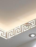 Forme / 3D Stickers muraux Miroirs Muraux Autocollants , PS 10*10cm