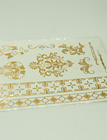 10/PCS Hot Sale Color-Changing Tattoo Handsome Multi-Style Temporary Tattoo For Fashion WST-231