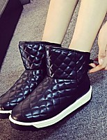 Women's Shoes  Platform Snow Boots / Round Toe Boots Outdoor / Casual Black / Pink / Beige