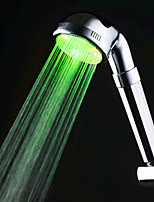 Green Color Kitchen Sink Universal Adapter LED Faucet Nozzle (Monochrome)