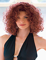 Wine Red Lady Women Cheap Price Synthetic  Wigs To European And America