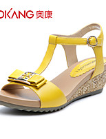 Aokang® Women's Leather Sandals - 132823662